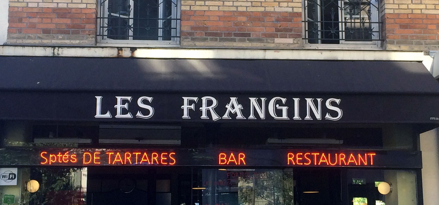Les frangins bistronomie traditionelleles gobelins paris for Restaurant les frangins